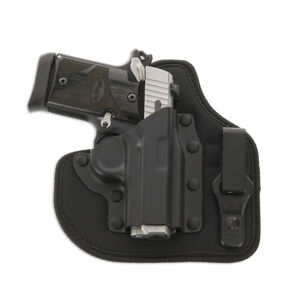Galco QuickTuk Cloud IWB Holster for Sig Sauer P938 Right Hand Kydex Black