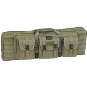 "Bulldog Cases Double Rifle Tactical 43"" Green"