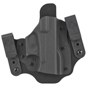 DeSantis Intruder 2.0 IWB/OWB Belt Holster Fits Glock 42 Right Hand Kydex Black