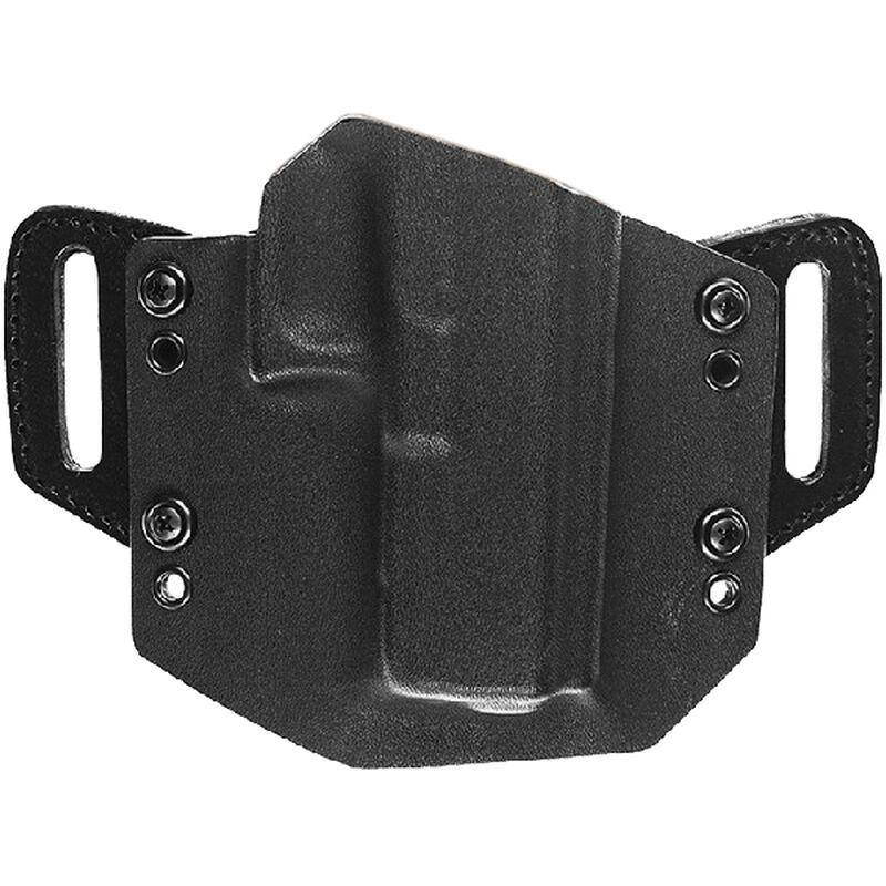 Tagua Gunleather Armament OathKeeper GLOCK 43 OWB Belt Holster Right Handed  Kydex Black