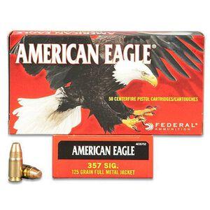 American Eagle .357 SIG 125 Grain FMJ 50 Round Box