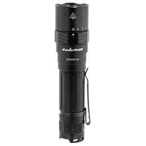 "Fenix PD40 V2.0 LED Flashlight 3000 Lumen 5.4"" Waterproof Rechargeable 21700 Battery Tail Cap Switch Aluminum Black"