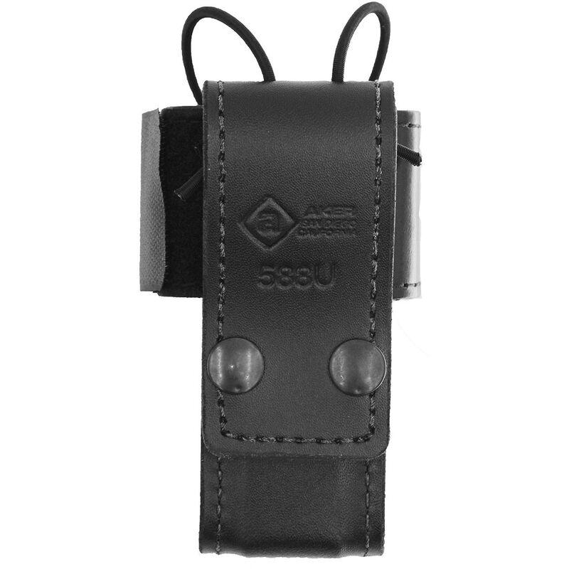 Aker Leather Universal Radio Holder Black