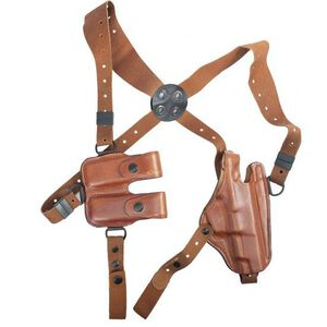 Bianchi X16 Agent X 1911 Shoulder System Leather Right Hand Plain Unlined Tan 17252