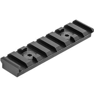 UTG Pro M-LOK Picatinny Rail Section 8 Slot, Black