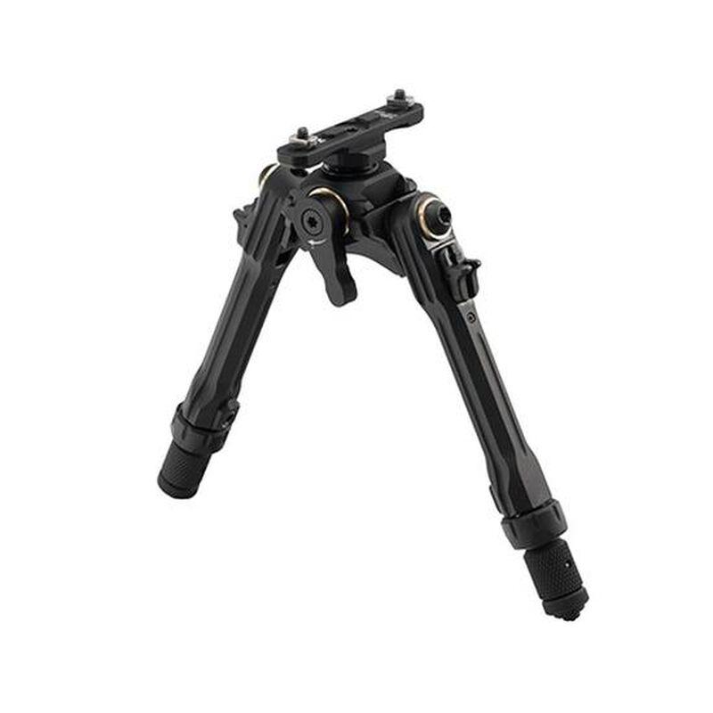"UTG TBNR Bipod 7""-9"" Center Height M-LOK Mounted Spiral Guided Black TLUB02M-A"