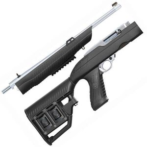 Adaptive Tactical Tac-Hammer RM4 Ruger 10/22 Takedown Rifle Stock Black