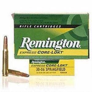 Remington .30-06 Springfield Ammunition 20 Rounds, Core-Lokt SP, 180 Grains