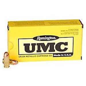 Remington UMC .45 ACP Ammunition 50 Rounds 230 Grain Full Metal Jacket 835fps