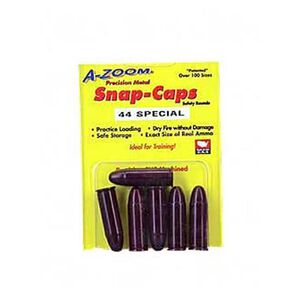 A-Zoom Snap Caps .44 Special Aluminum 6 Pack 16121
