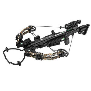 Centerpoint Dagger 390 Crossbow Kit with 4x32 Scope Adjustable Stock Camo