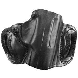 DeSantis Gunhide Thumb Break Mini Slide OWB Belt Holster Kel-Tec PMR-30 Right Hand Draw Leather Black