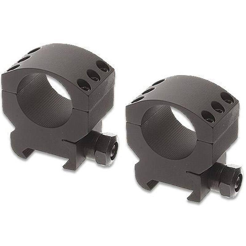 "Burris Xtreme Tactical Weaver/Picatinny Style Scope Rings 30mm Tube Diameter Medium Height 1.10"" Aluminum Matte Black"