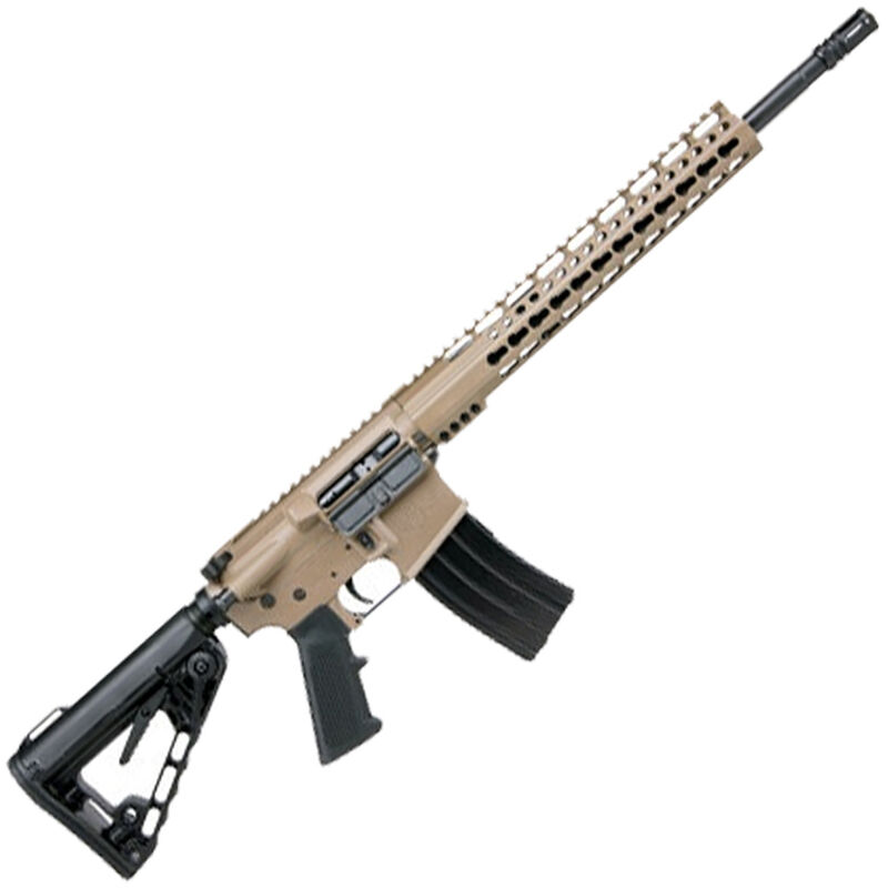 "Diamondback Firearms DB15CCK AR-15 Semi Auto Rifle .300 Blackout 30 Rounds 16"" Barrel Key-Mod Handguard Collapsible Stock Flat Dark Earth"