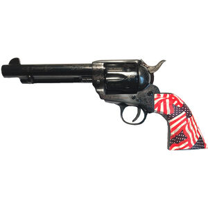 "E.M.F. GWII Freedom .45 LC Revolver 5.5"" Barrel 6 Rounds US Flag Grip Laser Engraved Black Finish"