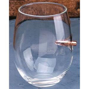 2 Monkeys Lucky Shot .308 Cal Bullet Wine Glass
