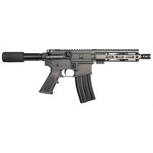 "I.O. Inc. M215-ML7 AR-15 Semi Auto Pistol 5.56 NATO 7.5"" Barrel 30 Rounds Free Float M-LOK Handguard Pistol Grip Anodized Black Finish"