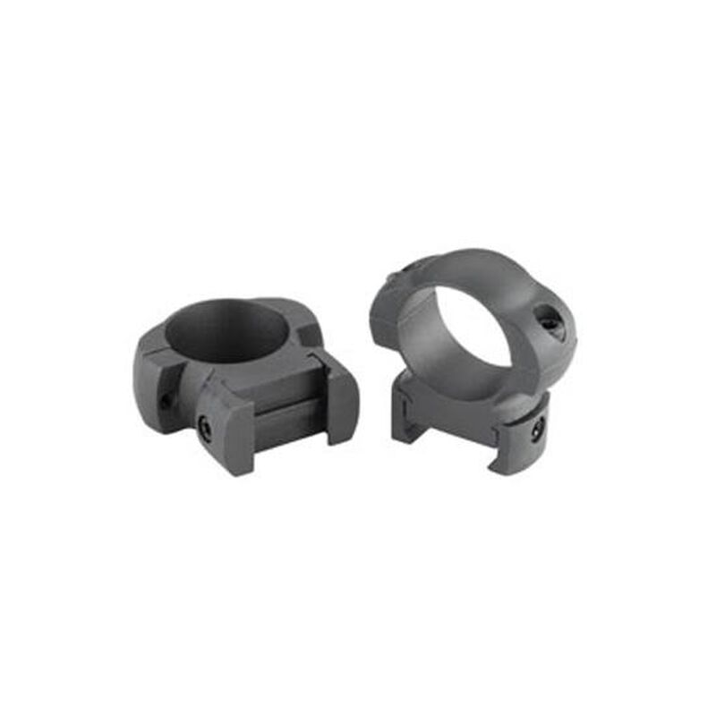 "Weaver Top Mount Windage Adjustable 1"" Rings X-High Matte Black"