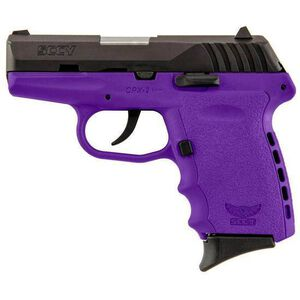 """SCCY CPX-2 9mm Luger 3.1"""" 10rds No Safety Purple/Black"""