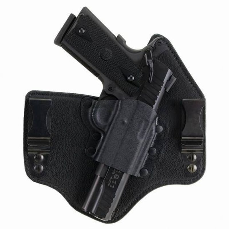 Galco KingTuk IWB Holster For GLOCK 42 Right Hand Kydex/Leather Black KT600B