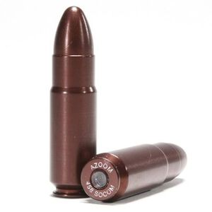 A-Zoom .458 SOCOM Snap Cap Aluminim 2 Pack 12301