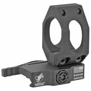American Defense Manufacturing Aimpoint Low Optics Mount 30mm Tube Diameter QD Auto Lock Standard Style Titanium Lever Black