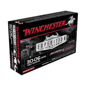 Winchester Expedition .30-06 Springfield Ammunition 200 Rounds Accubond 190 Grains S3006LR