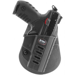 Fobus Evolution Roto-Paddle/Belt Holster Ruger SR22 Right Hand Polymer Black SR22RP