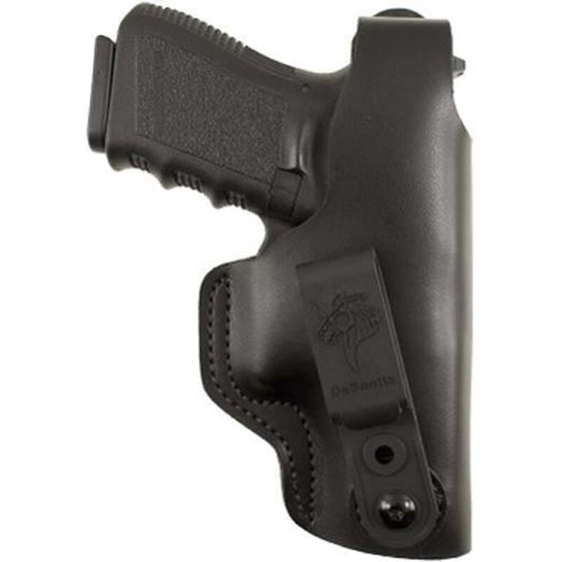 DeSantis Gunhide Dual Carry II SIG P365 IWB/OWB Holster Right Hand Leather Black