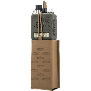 Sentry Radio Pouch Gunnar Duty MOLLE Nylon Coyote Brown