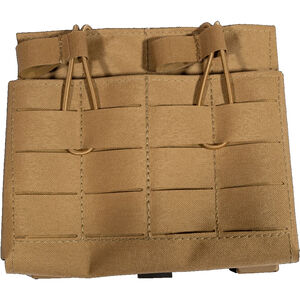 Grey Ghost Gear Double 7.62 Magazine Pouch Laminate MOLLE/Pals Compatible Coyote Brown