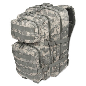 MIL-TEC Level I Assault Pack All Terrain Digital Camouflage Heavy Duty 600 Denier Polyester Construction 14002270