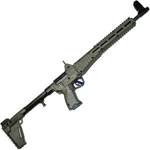 "Kel-Tec SUB-2000 G2 .40 S&W Semi Auto Rifle 16.25"" Barrel 10 Rounds M-Lock Uses GLOCK 22/23 Style Mags Adjustable Stock OD Green"