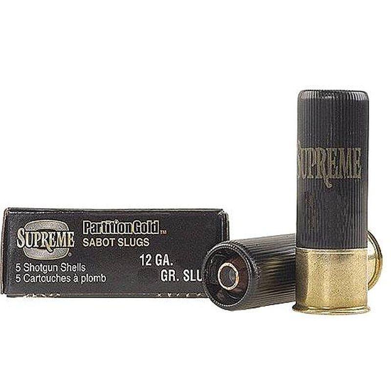 """Winchester 20 Gauge Partition Gold 3"""" Sabot Slug 5 Rounds"""