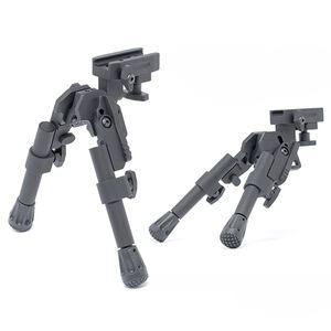 "GG&G Tactical XDS-2 Compact Bipod 6 5/8 - 8 1/4"" Rail Mount Black GGG-1721"
