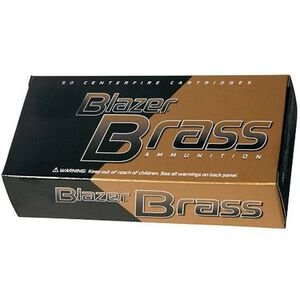 CCI Blazer Brass 9mm Luger Ammunition 50 Rounds FMJ 124 Grains 5201