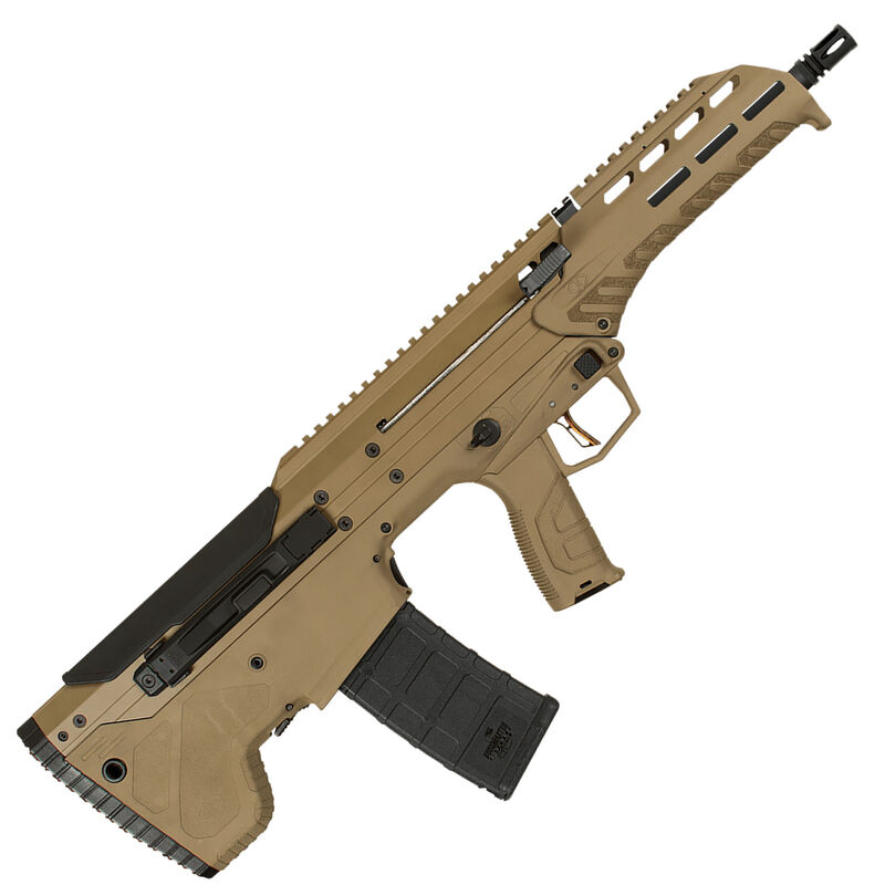 Desert Tech Mdr 223 Wylde Semi Auto Rifle 16 Barrel 30 Round Magazine Ambidextrous Design Bull Pup Rifle Synthetic Stock Flat Dark Earth