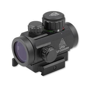 "Leapers UTG ITA Red/Green CQB Micro Dot Sight 2.6"" Length 4 MOA Dot Integral QD Mount Black SCP-DS3026W"