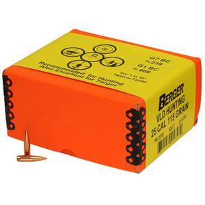 "Berger .25 Caliber .257"" Diameter 115 Grain HPBT VLD Match Grade VDL Hunting Rifle Bullet 100 Count 25513"