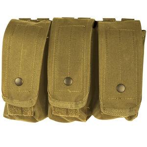 Fox Outdoor AR-15/AK-47 Triple Mag Pouch Coyote 57-038