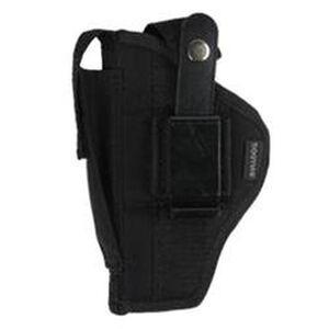 "Bulldog Case Fusion Large Frame Semi Auto Pistols with 3.5""-5"" Barrel Belt Holster Ambidextrous Nylon Black FSN-8"