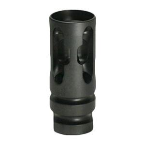 2A Armament T4 Compensator .223 Rem/5.56 NATO Muzzle Device 1/2x28 6AL-4V Titanium Black Finish