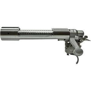 Remington 700 Left Handed Short Action Receiver Assembly Standard Bolt Face X-Mark Pro Trigger Stainless Steel