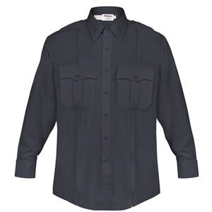 Elbeco DutyMaxx Men's Shirt Long Sleeve Polyester Rayon 16.5x37 Midnight Navy