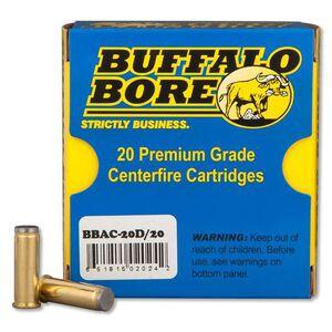 Buffalo Bore .38 SPL 150 Grain WC 20 Round Box 850 fps