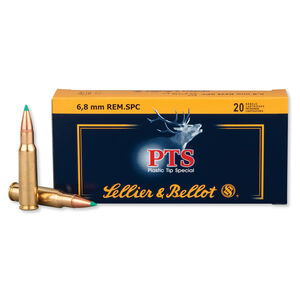 Sellier & Bellot 6.8 SPC Ammunition 20 Rounds PTS 110 Grains SB68B