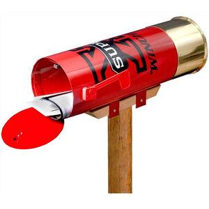 """Rockin' W Brand Winchester """"Super-X"""" Shotshell Mailbox 26""""x8.5"""" Metal Construction"""