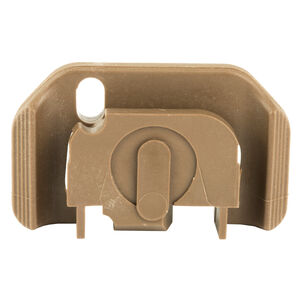 TangoDown Vickers Tactical Slide Racker fits Gen 1-4 GLOCK 17/19/22/23/26/27/34/35 Only Stainless Steel/Injection Molded Glass Reinforced Nylon Wing Shape Tan