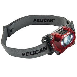 Pelican 2760 LED Head Light 204 Lumens Red 027600-0101-170