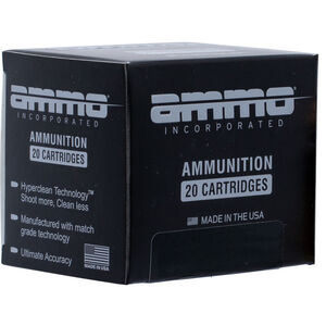 Ammo Inc. Signature 9mm Luger 124 Grains JHP 20 Rounds 9124JHP-A20
